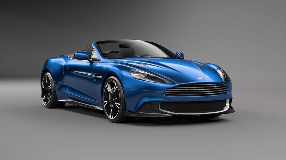 Aston Martin Vanquish S Volante Is a V12 Drop-top Beast
