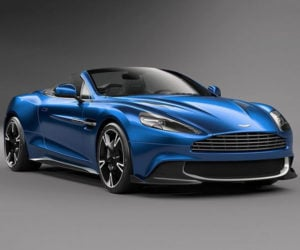 Aston Martin Vanquish S Volante Is a V12 Drop-top Beast
