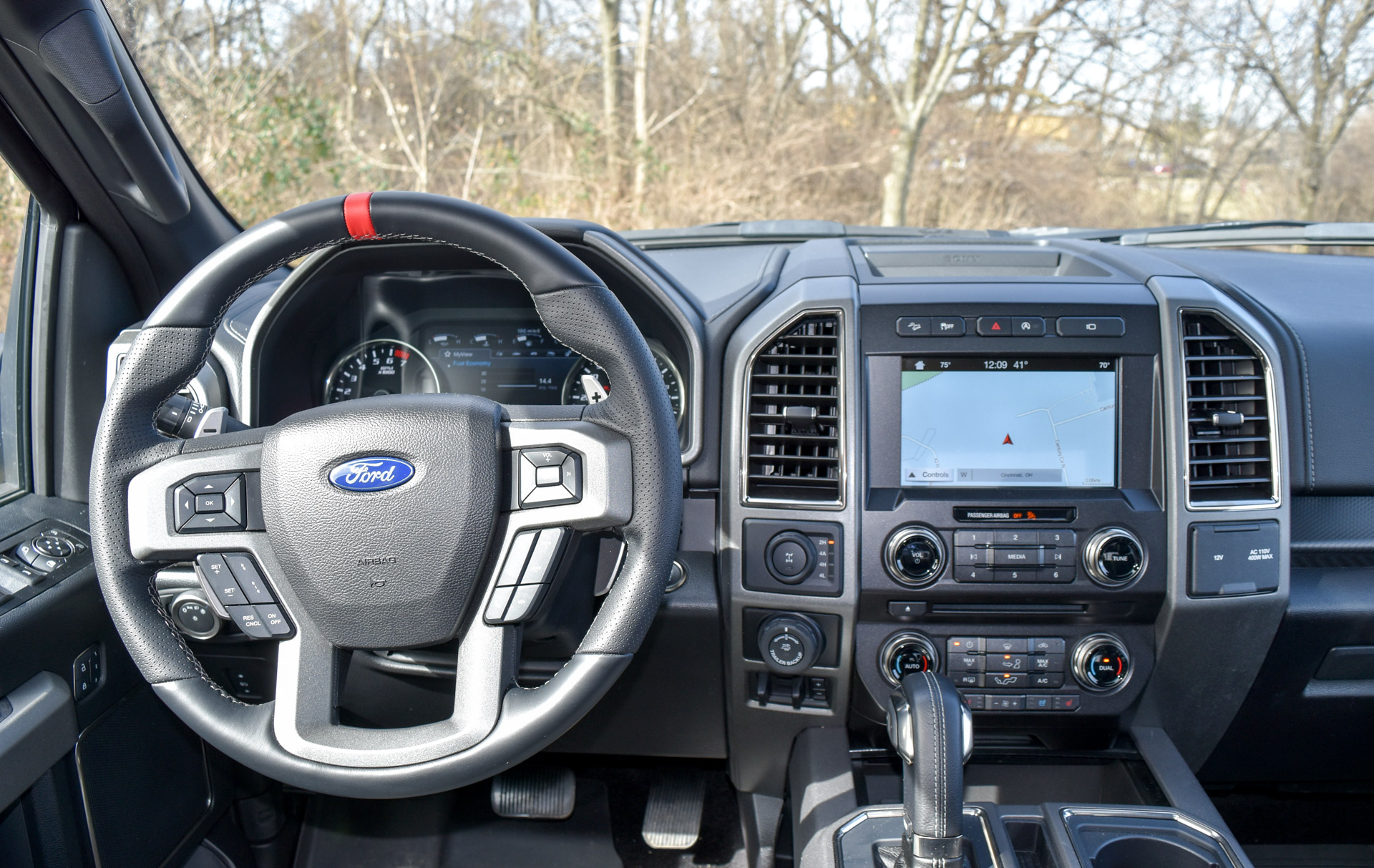 the raptor is equipped with the much improved ford sync 3 system. Cars Review. Best American Auto & Cars Review