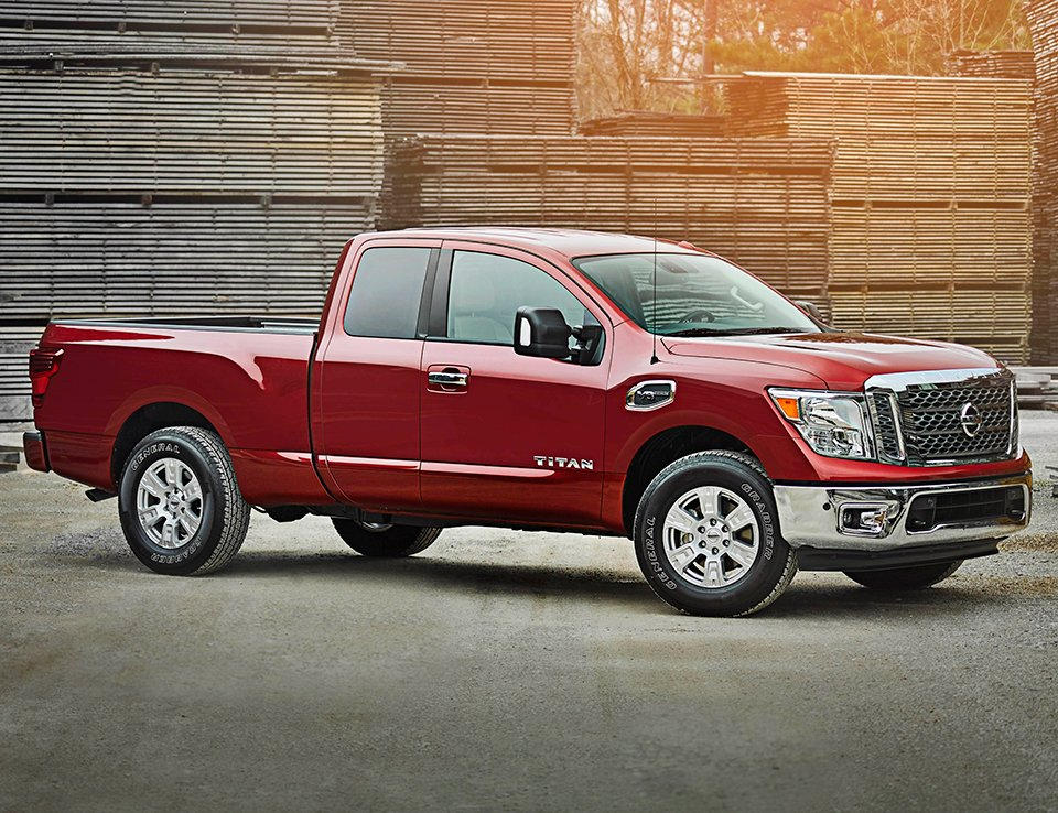 Nissan TITAN King Cab Seats up to Six in a Pinch