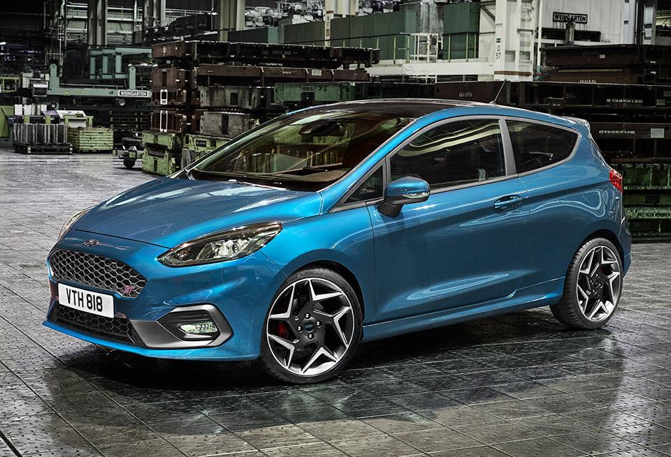 2018 Ford Fiesta ST Gets 1.5L EcoBoost 3-banger