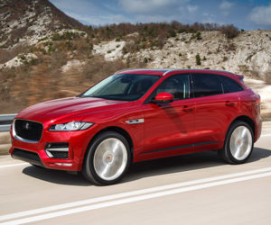2018 Jaguar F-PACE Prices, Engines Announced