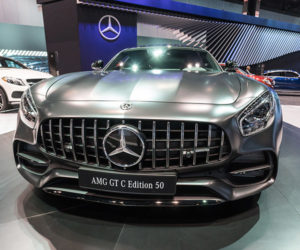 Up Close: Mercedes-AMG GT C Edition 50