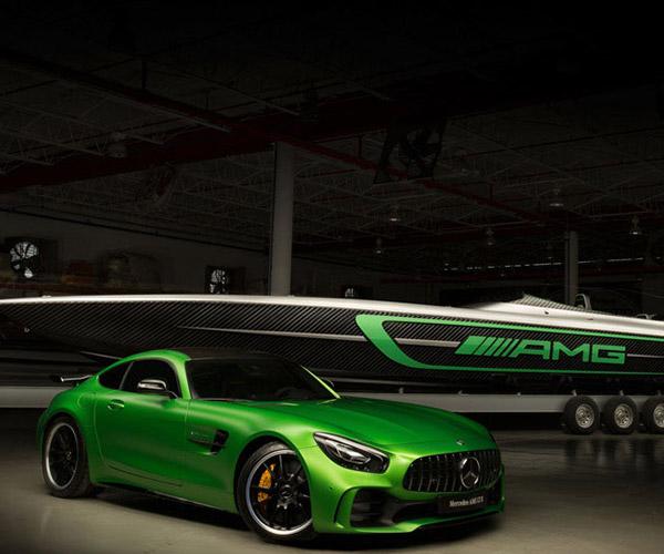 Mercedes-AMG GT R Inspires Racing Boat
