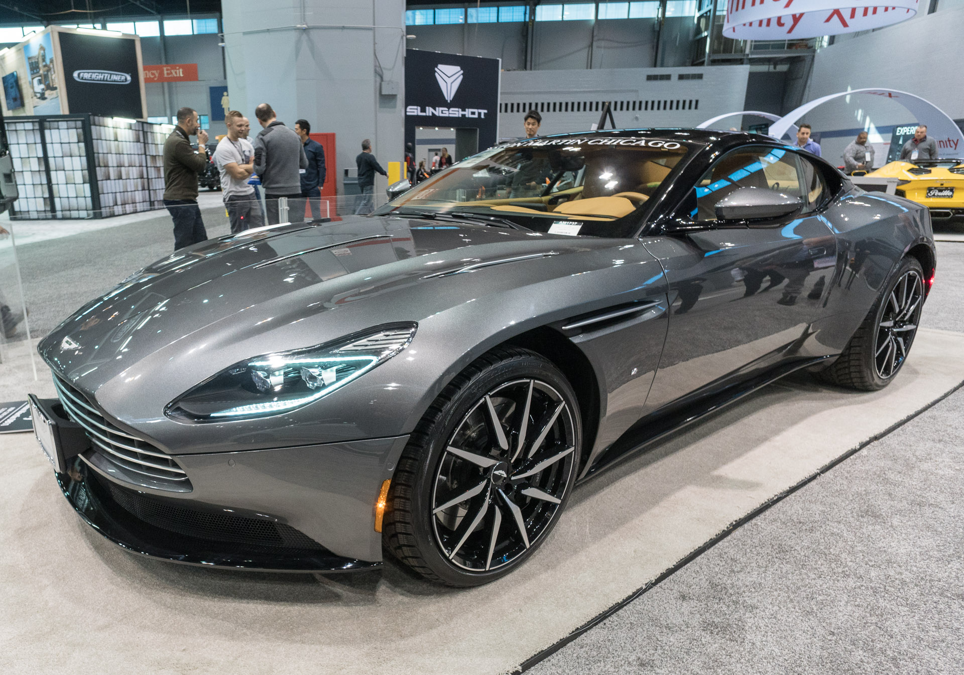 Up Close: Aston Martin DB11