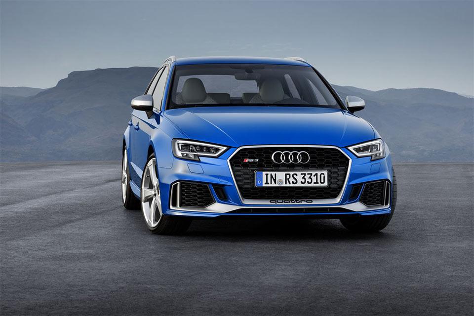 2018 Audi RS 3 Sportback Gets 400hp Aluminum Engine