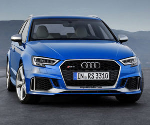 2018 Audi RS 3 Sportback Gets 400hp Aluminum Engine