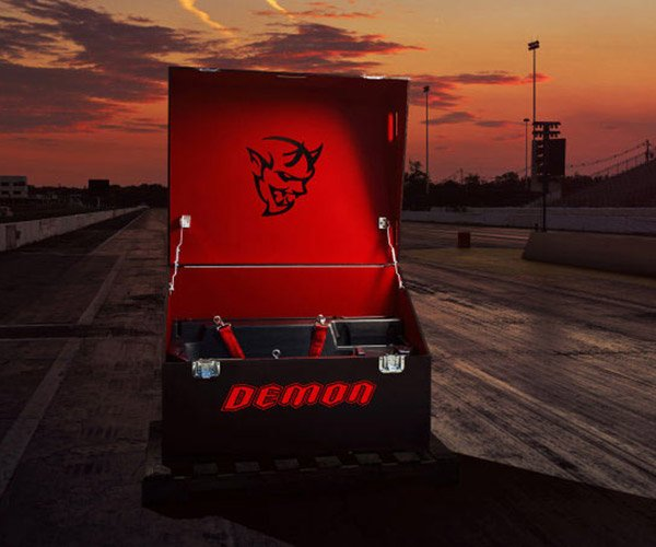 Dodge Demon to Come with Fancy Crate Full of Goodies