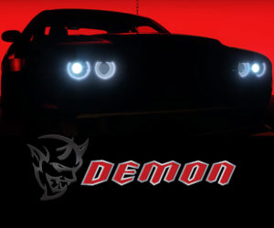 Dodge Demon to Be a Single Seater?