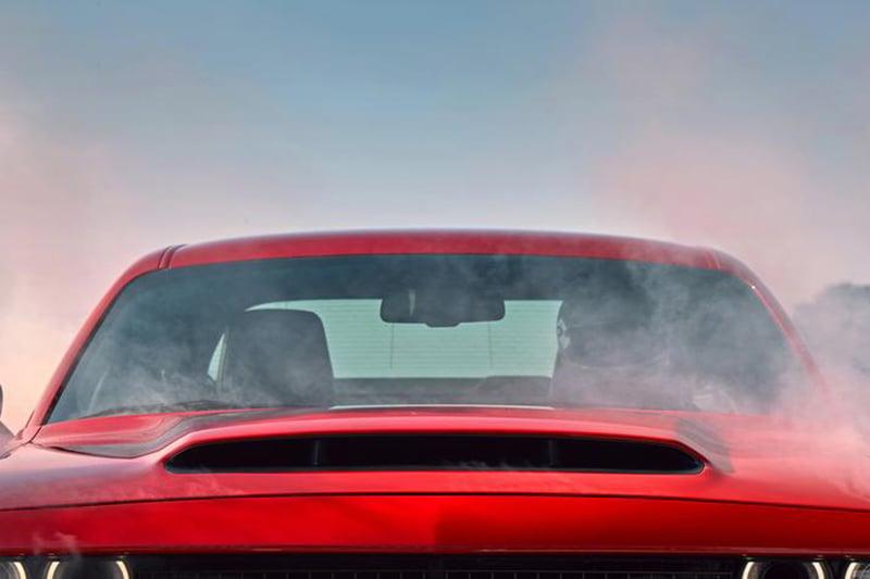 Dodge Demon Gets Biggest Production Car Hood Scoop