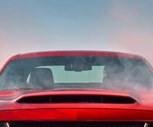 Dodge Demon Gets Biggest Production Car Hood Scoop