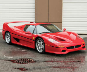 Mike Tyson Owned Ferrari F50 Heads to Auction