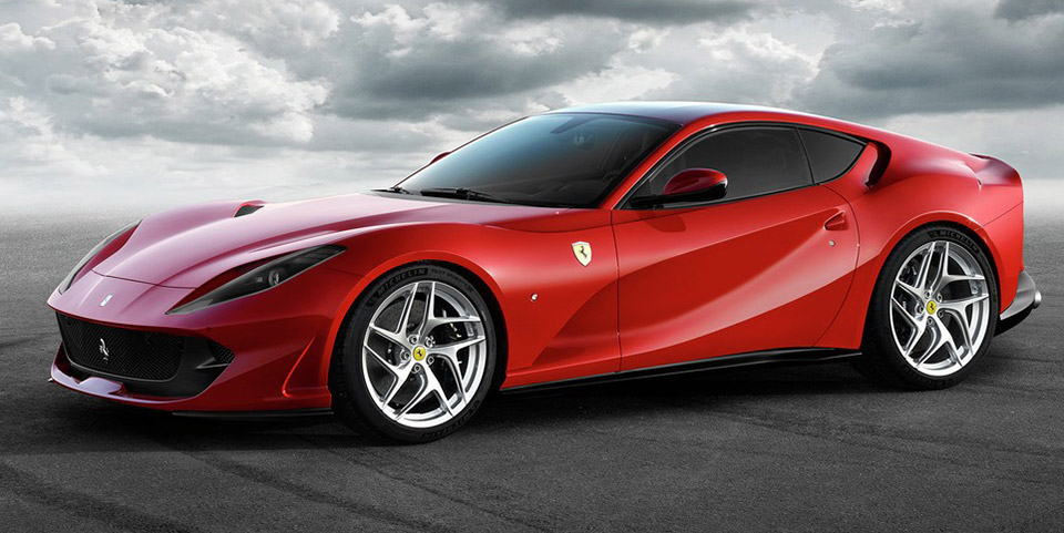 ferrari 812 superfast is super fast 95 octane. Black Bedroom Furniture Sets. Home Design Ideas