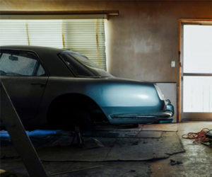 Ferrari 250 GT PF Coupe Found Tucked Inside Apartment