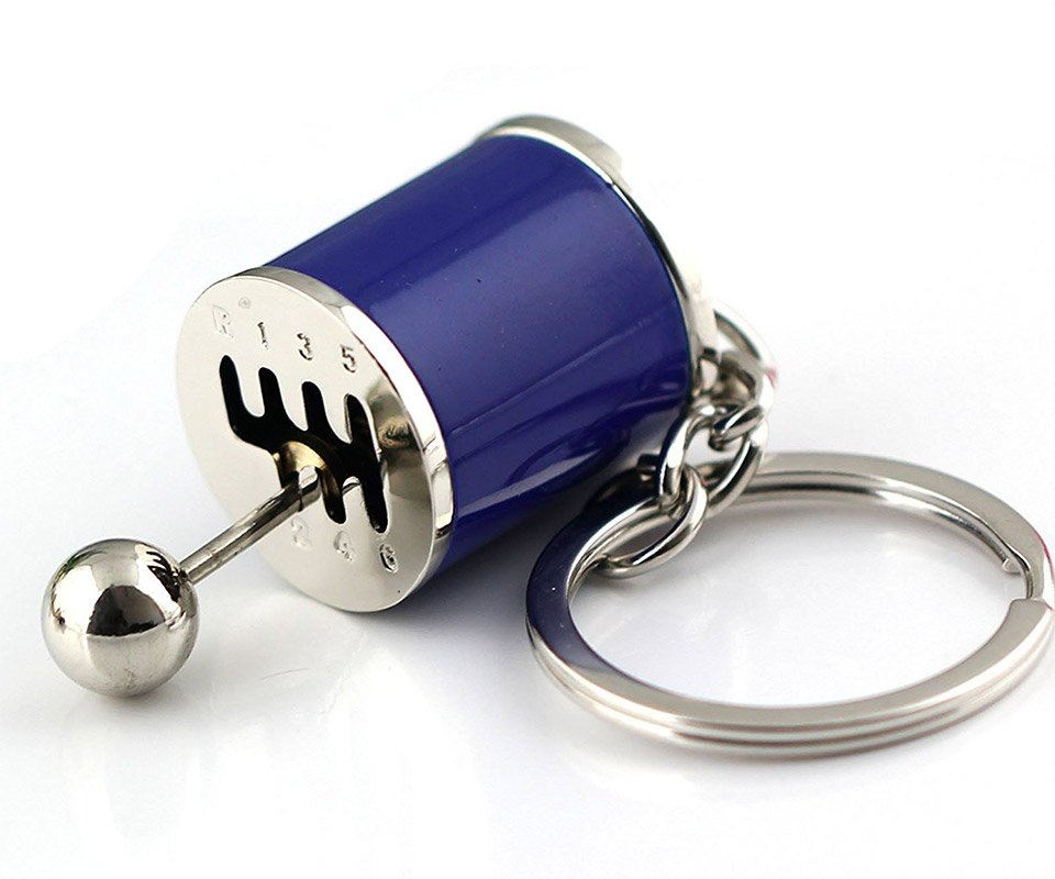Manual Shifter, Coilover, and Turbocharger Keychains