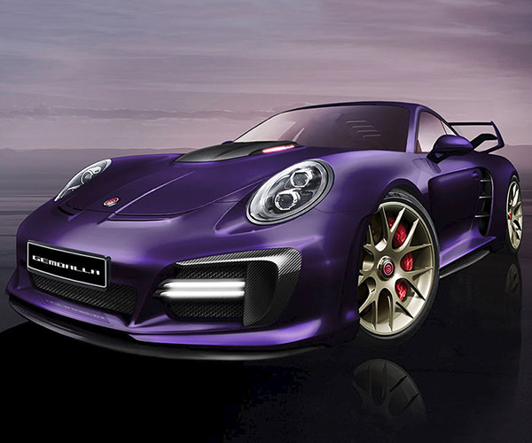 Gemballa Avalanche Porsche 991 Turbo: Purple Pavement Eater