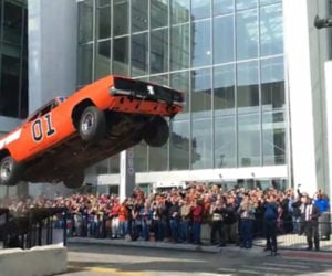 General Lee Stunt Jump Kills a Charger and We Are Sort of Bummed