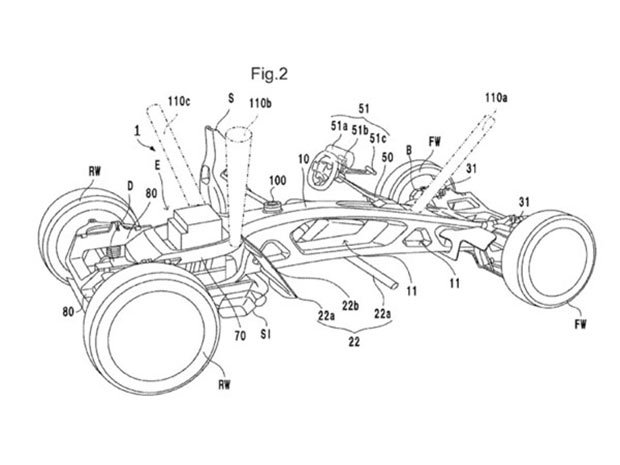 Honda Files Patent for Mid-Engine Sports Car