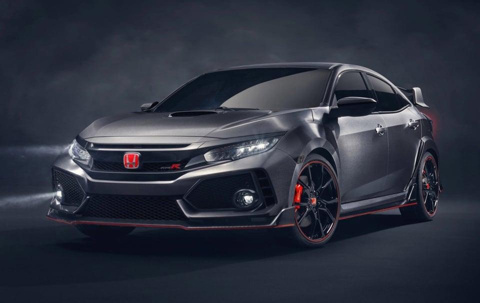 "Honda Civic Type-R ""Close to Production"""