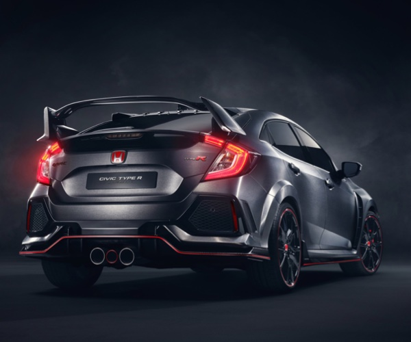 "Honda Civic Type-R ""Close to Production"""