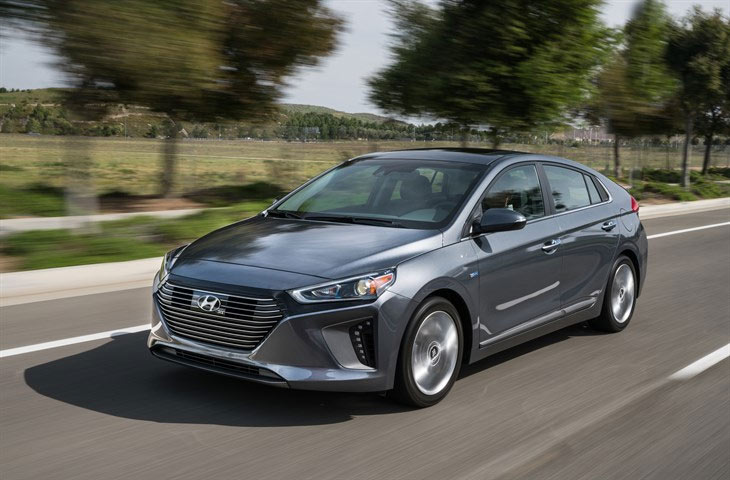 2017 Hyundai Ioniq Hybrid and EV Prices Announced