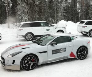 Jaguar Land Rover Ice Academy: The Coolest Vacation Ever