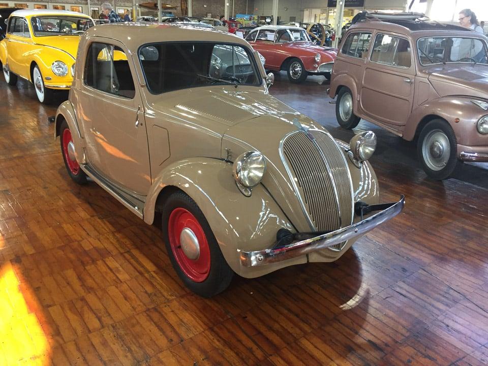 A Tour of Nashville's Lane Motor Museum