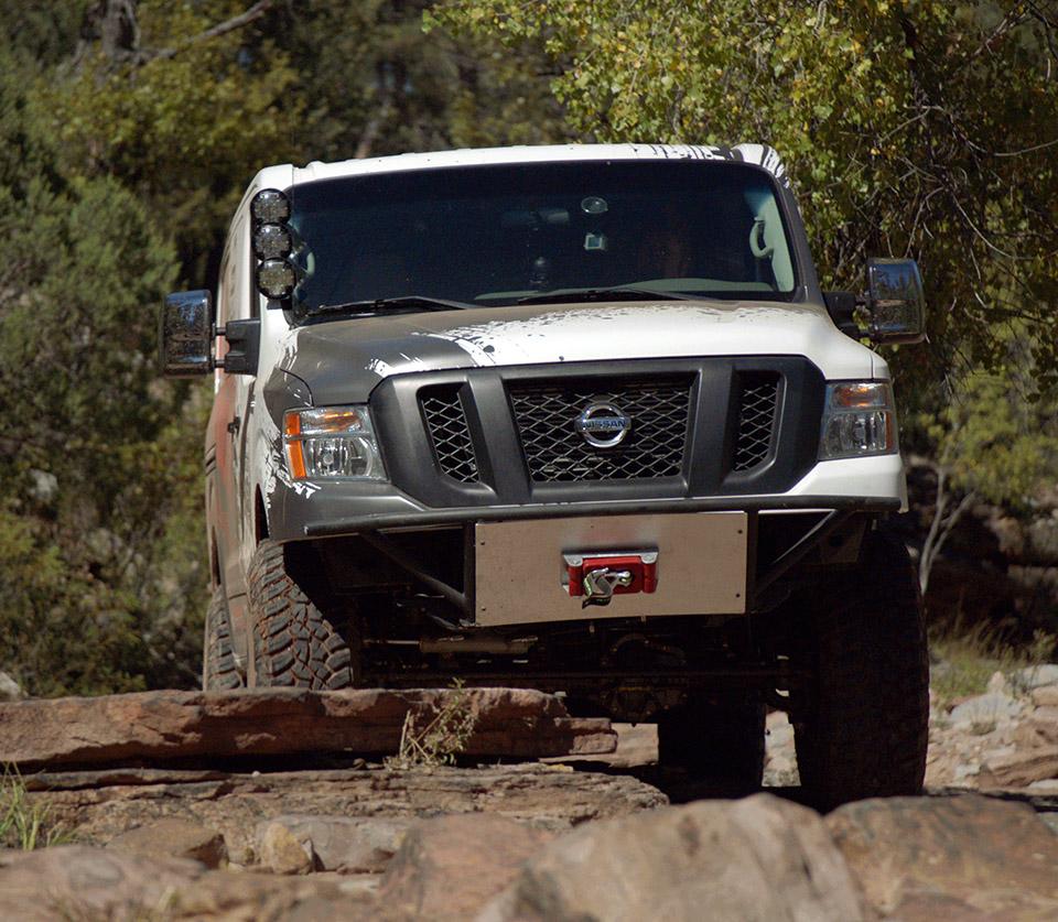 Nissan Creates Beastly NV Cargo X Off-road Van