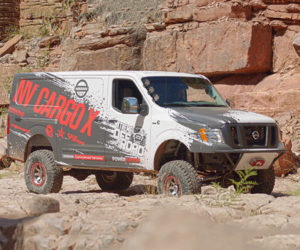 Nissan Creates Beastly NV Cargo X Off-road Van