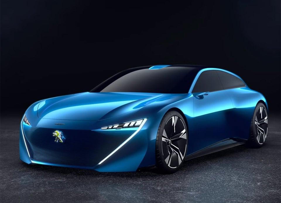 Peugeot Instinct Is an Autonomous Shooting Brake Concept