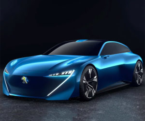 Peugeot Instinct Is an Autonomous Shooting Brake Concept