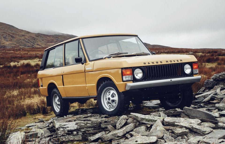 Range Rover Reborn Brings Back 1970s Classics
