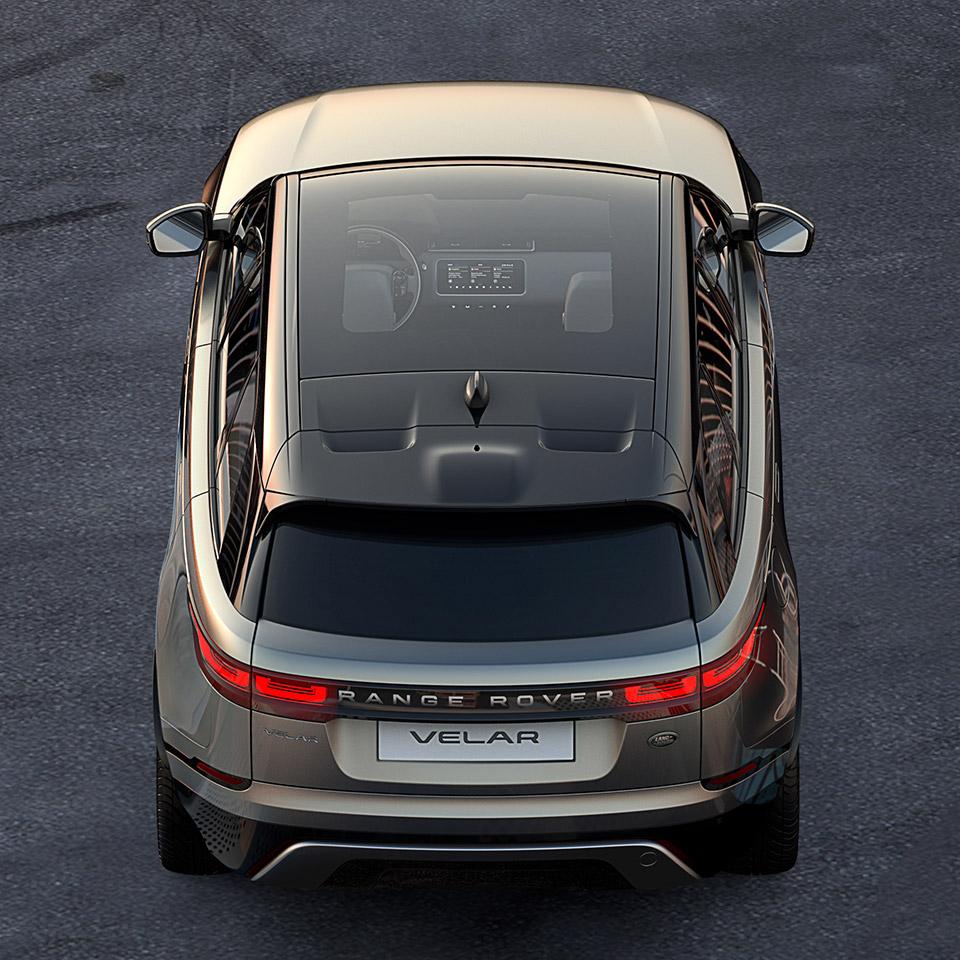Land Rover Teases New Range Rover Velar Luxury SUV