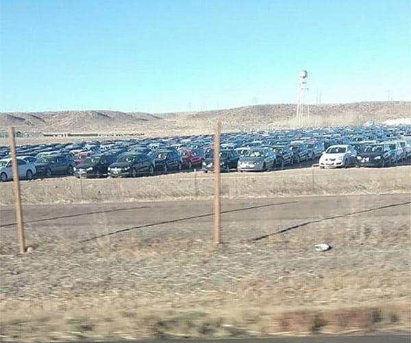 Forlorn VW Diesel Buybacks Sit Sadly in a Colorado Field