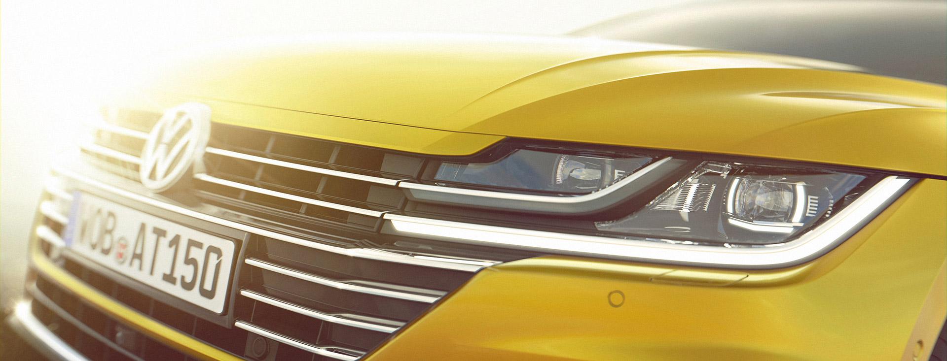 Volkswagen Teases Arteon Grand Tourer Ahead of Geneva