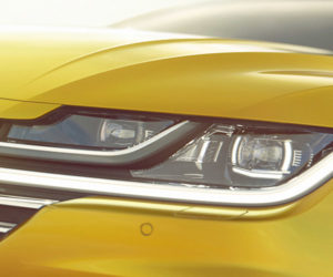 Volkswagen Teases Arteon Grand Tourer Ahead of Geneva
