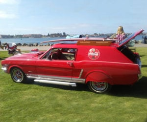 A Crazy 1965 Ford Mustang Wagon Conversion