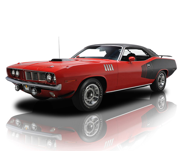 $1.3 Million Buys You This 2000-Mile 1971 Barracuda