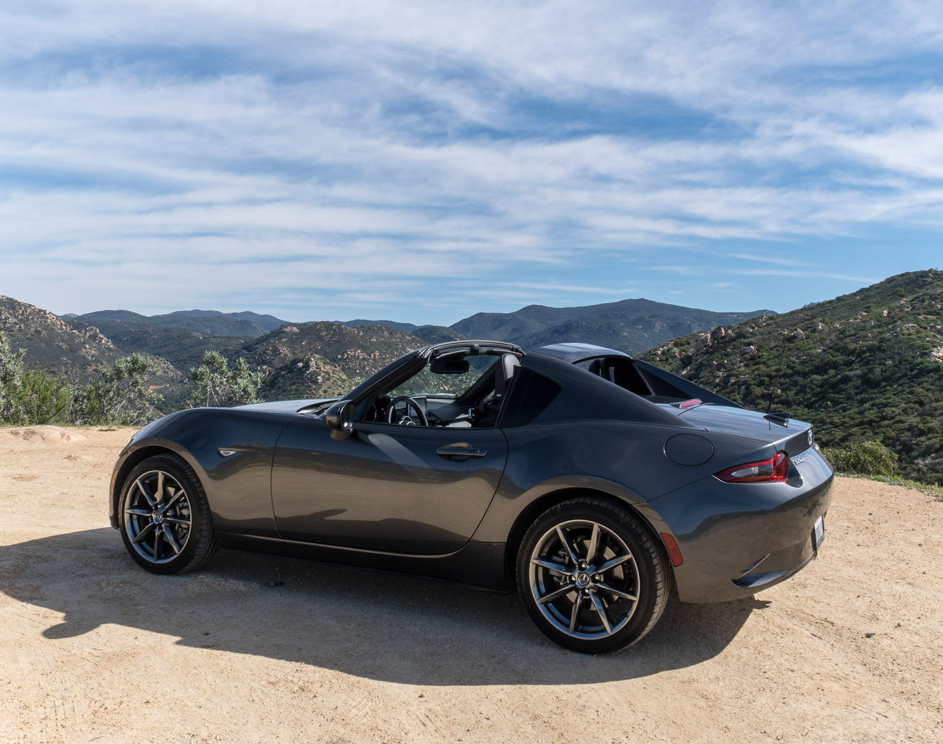the 2017 mazda mx 5 rf is the best kind of miata 95 octane. Black Bedroom Furniture Sets. Home Design Ideas