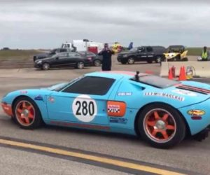 2006 Ford GT Does World's Fastest Standing Mile