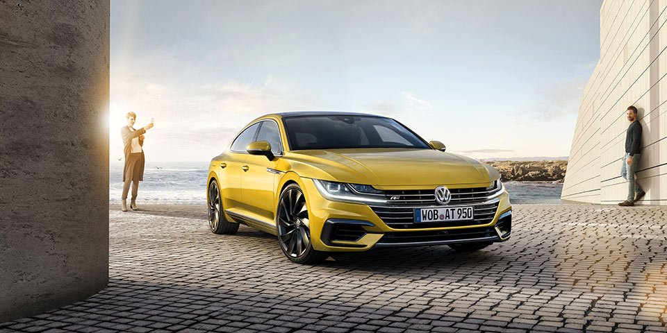 2018 Volkswagen Arteon Sedan Gets Official