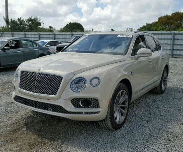 This Salvage Auction Bentley Bentayga is a Bargain
