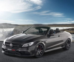 Brabus 650 Cabrio Amps up Mercedes C63 S Drop Top