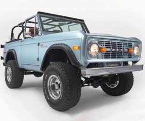 Epic 1971 Ford Bronco Has Coyote 5.0 V8 from a Mustang