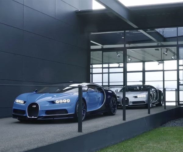 First Production Bugatti Chirons Roll off the Line