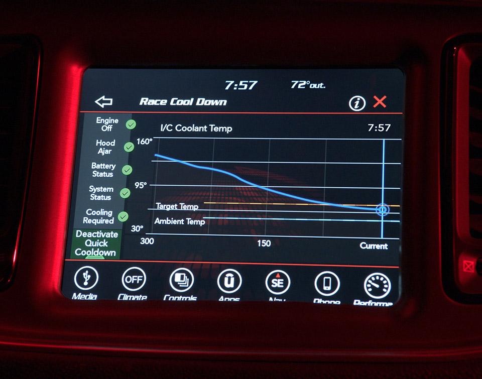 Dodge Demon to Get Advanced Performance Data Display