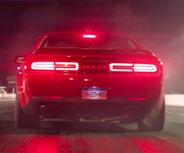 Dodge Demon Launches Like Satan Just Goosed It
