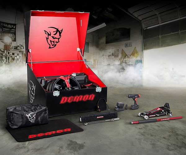 Dodge Demon Gets Custom Tool Kit for the Track