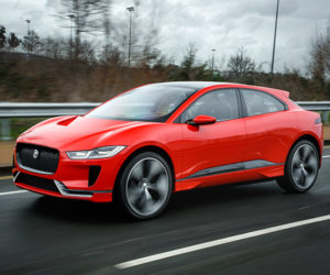 Jaguar I-PACE Electric Crossover Hits the Streets of London