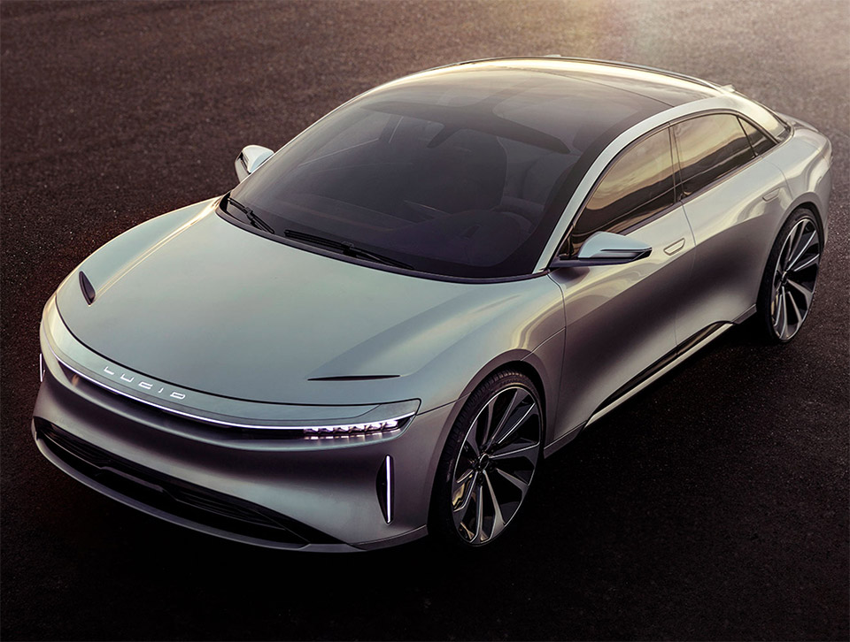Lucid Air EV Price Undercuts Tesla Model S